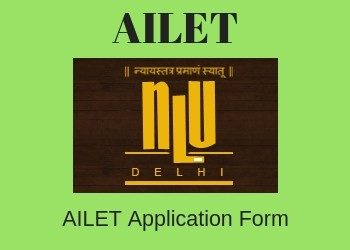 AILET Application Form 2019