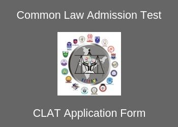 CLAT Application Form 2019